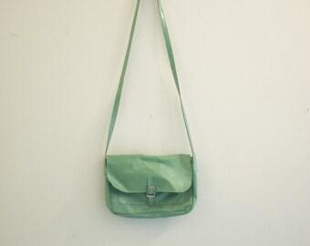 Vintage Boho Small Mint Green Fesitval Purse