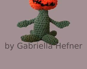 Amigurumi Halloween Walking Pumpkin Pattern