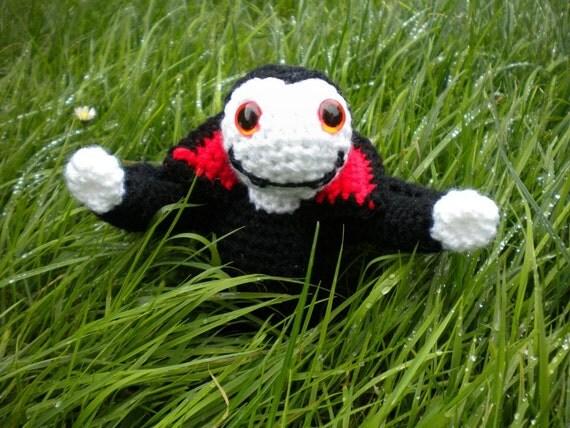 Amigurumi Halloween little vampire pattern