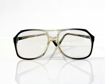 wimbledon vintage eyeglasses new old stock 1970s aviator frame