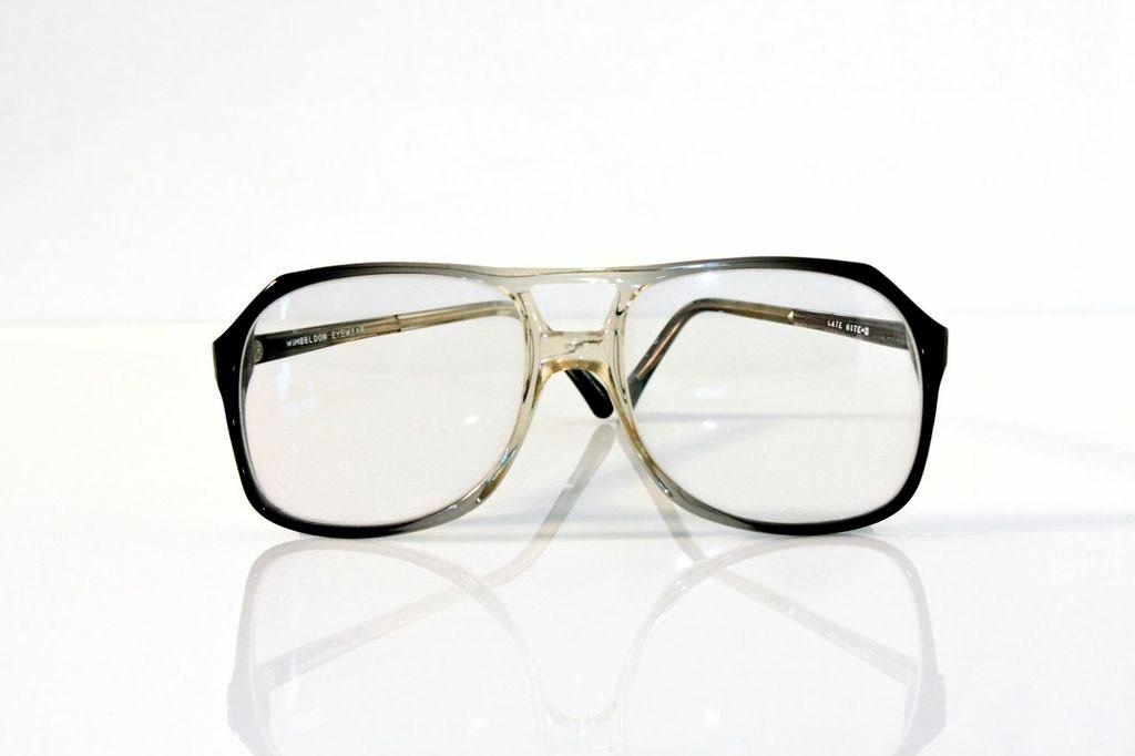 Vintage Eyeglass Frames New Old Stock : Wimbledon Vintage Eyeglasses New Old Stock by VisionUnlimited