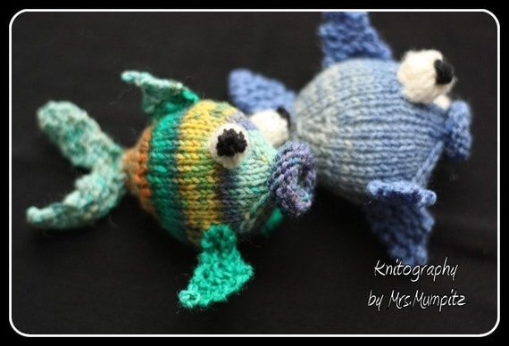Amigurumi fish knitting pattern, easy knitting tutorial ...