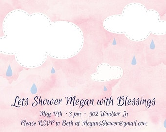 shower with blessings baby shower i nvite