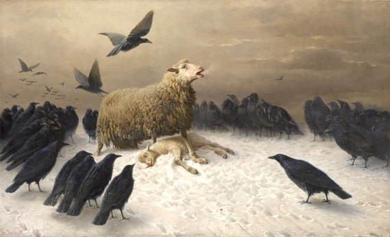 "August Friedrich Schenck : ""Anguish"" - Giclee Fine Art Print"