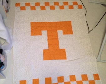 Baby University of Tennessee UT quilt