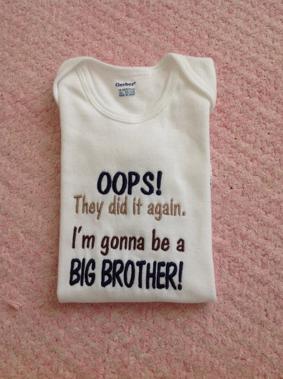 items similar to oops  they did it again big brother baby