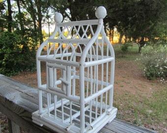 Birdcage , wood birdcage , wedding birdcage , cardholder, vintage birdcage ,vintage birdcage,