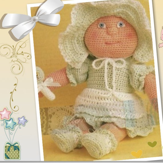 Crochet Doll Pattern Easy : Baby Doll Pattern Easy Crochet PDF by Patternstriedandtrue