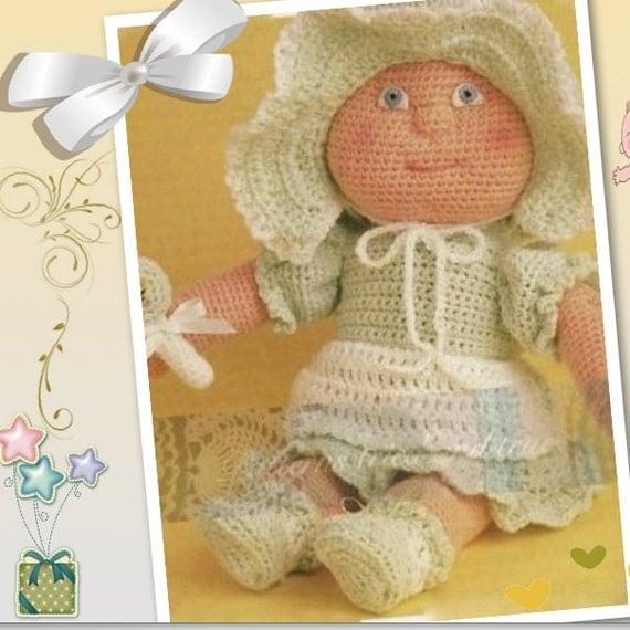 Baby Doll Pattern Easy Crochet Pdf By Patternstriedandtrue