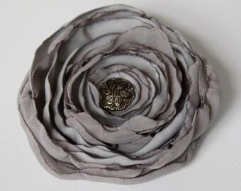 Silk Flower Hair Accessory