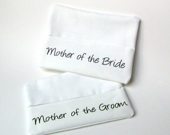 Personalized Bridal Pocket Tissue Holder Wedding Gifts and Favors