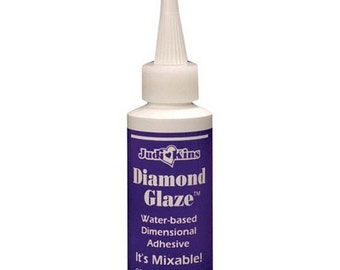 Diamond Glaze - Judikins - 2 oz Bottle. (DGLAZE)