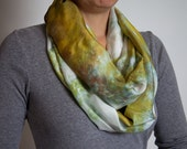 Infinity Scarf- Hand Dyed...