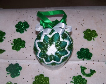 St. Patty's Day Quilted Ornament