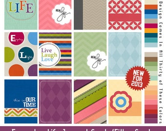 Project Life Journal Cards (Digital Download)