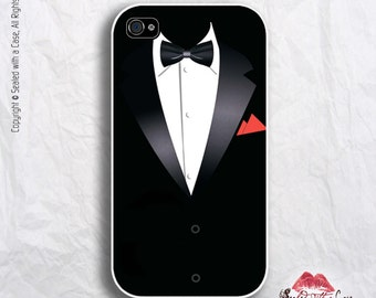 Tuxedo Wedding / Prom - iPhone 4/4S 5/5S/5C/6/6+ and now iPhone 7 cases!! And Samsung Galaxy S3/S4/S5/S6/S7