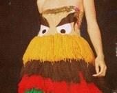 Hamburger Monster Yarn Dress BURGER QUEEN