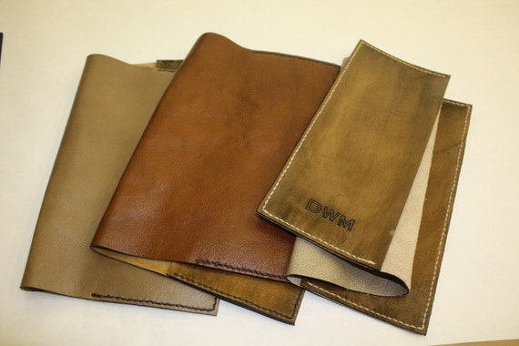 How To Make A Book Cover With Leather : Leather bible and book covers