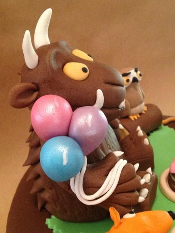 Gruffalo Cake Topper Australia