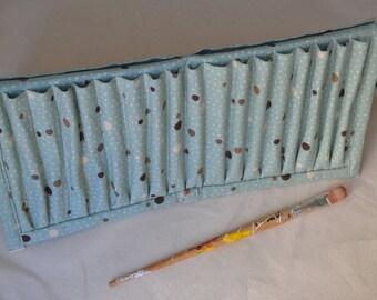 Folding Paintbrush holder