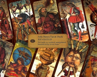 TAROT  - Completely Revised Sola Busca from XV Century