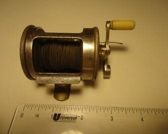 Fishing Reel by Horton Manufacturing No. 33 Blue Grass Simplex The Horton Manufacturing Co Bristol  CT