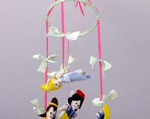 Popular items for nursery baby mobile on etsy for Princess crib mobile