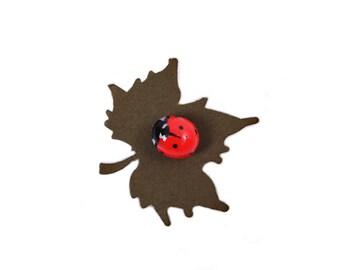 Ladybird (Ladybug) Pin Brooch