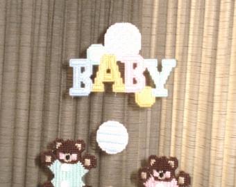 Crib Teddy Bear Mobile