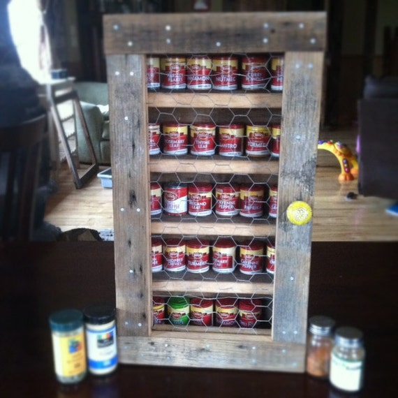diy barn wood spice rack items similar to rustic reclaimed barn wood hanging spice