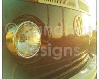 4 x 4 photo Sunset VW bus