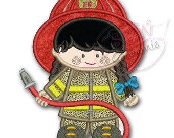 Lil Fire Fighter Girl