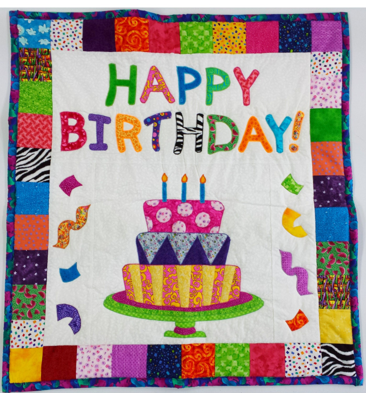 Birthday Cake Quilt Pattern