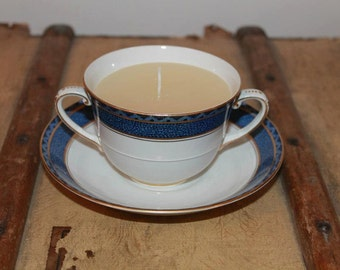 Vintage style candle cup (soup bowl)