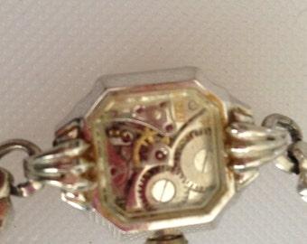 Gears of Time Repurposed Vintage Bulova Watch