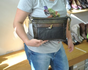 Vintage Leather Clutch...(241)