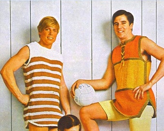 By the He Sea 018 -- VINTAGE Knitting PATTERNS
