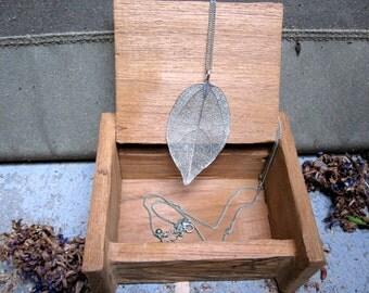 Handmade Reclaimed-Wood Jewelry Box