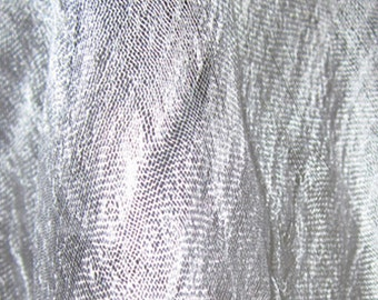 Uzbek Silk-gauze for NUNOfelting. White. 10 meters