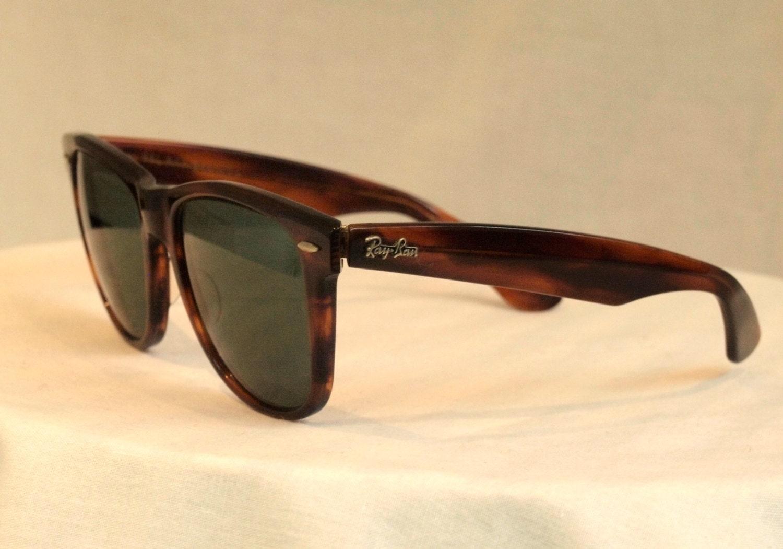 Ray Ban Glasses Frames Tortoise Shell : Vintage Original Ray-Ban Wayfarer Tortoise Shell Sunglasses