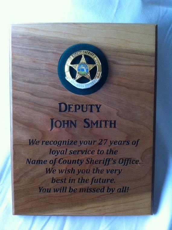 Items similar to Law enforcement / service retirement ...