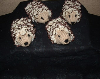 Knitting in lace HEDGEHOG SOAP COVER