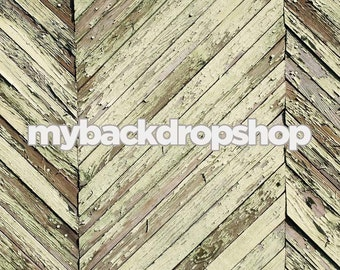 4ft x 3ft Distressed Gray Wood Backdrop - Photography Studio Backdrop -  Item 131
