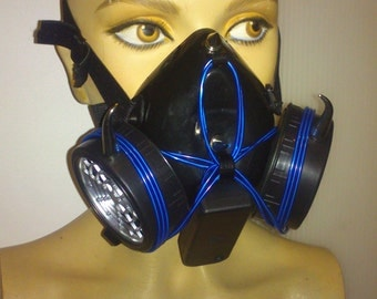Respirator Mask Lightning Force (Dark Blue Blue)
