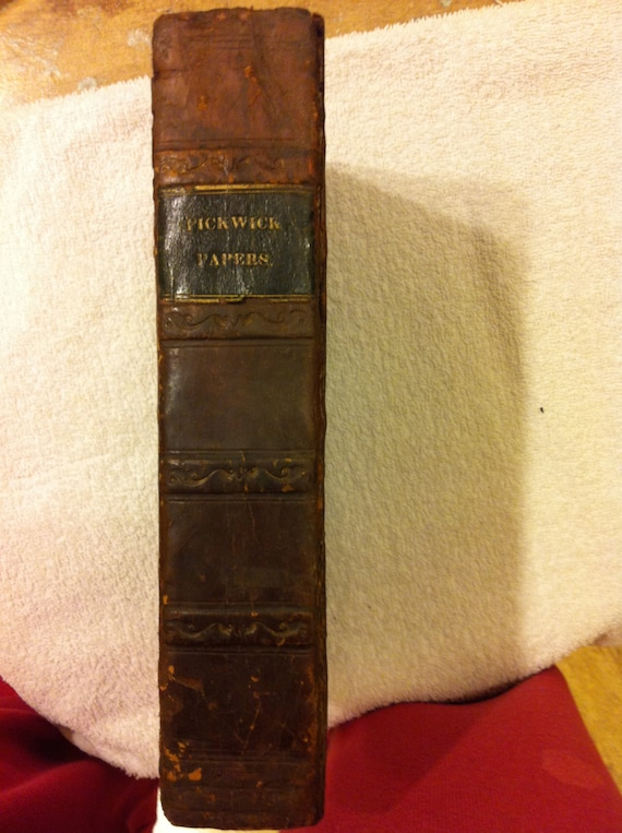 Charles Dickens Pickwick Papers Book
