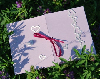 romantic wedding invitation bordica