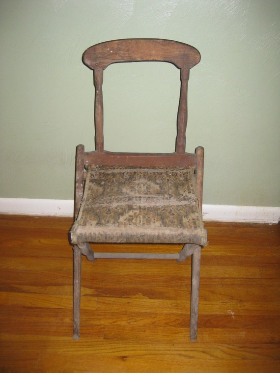 Civil War Folding Camp Chair