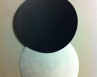 Adhesive Round Magnets
