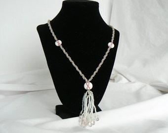 Breast Cancer Awareness Necklace UzunovJewelryDesigns