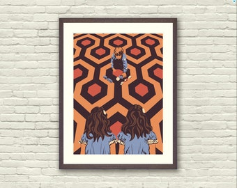 The Shining Danny Torrance Twins Limited Edition Art Print